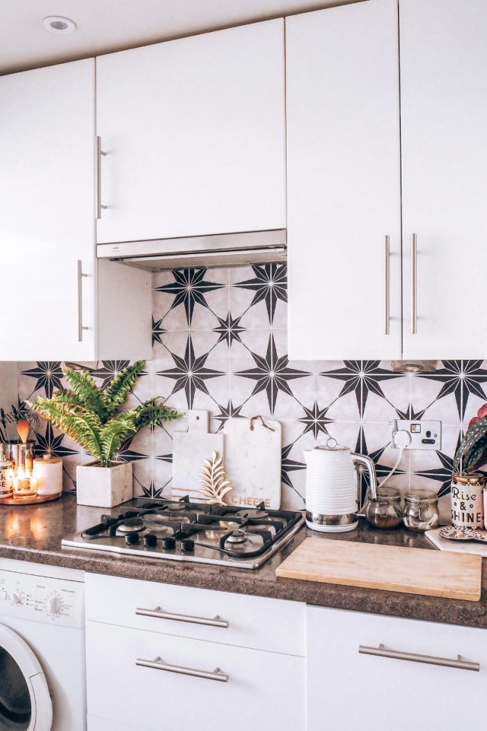 How To Transform Your Kitchen On A Budget Using Tile Stickers