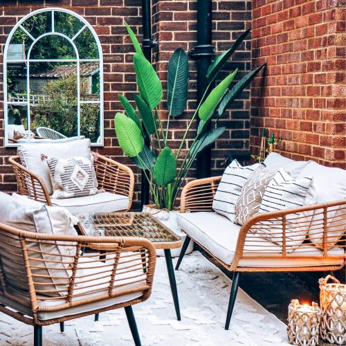 Patio, Rental-Friendly Patio Update, Garden, Patio, Patio Decor, Patio Styling, Rental-Friendly Patio Update